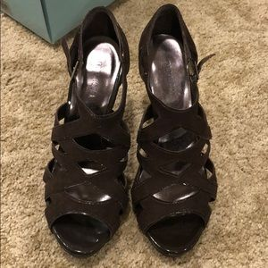 Maurices Brown Strappy Sandal
